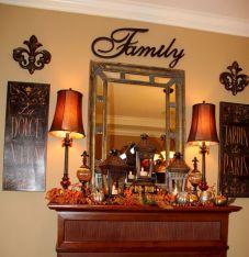 Fall Buffet Table Decorating Ideas 7