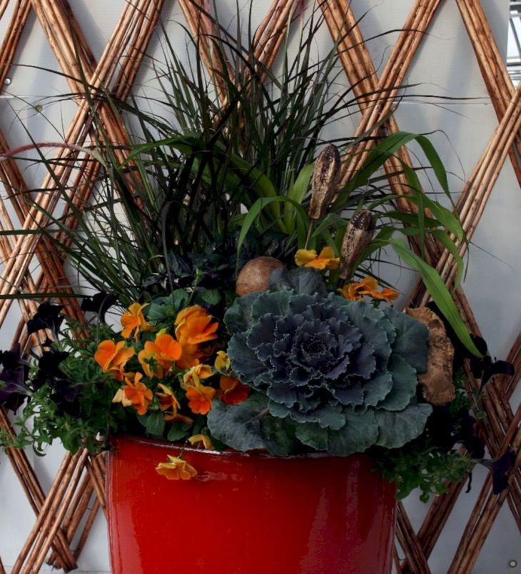 Fall Container Garden Design