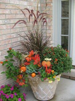 Fall Container Garden Idea