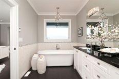 Grey and White Bathroom Design Ideas