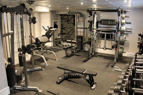 Home Gym Design Ideas 4