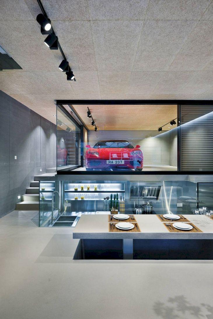 House with Underground Garage Designs