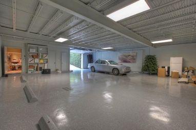 House with Underground Parking Garage