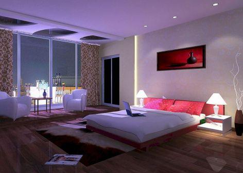 LED Bedroom Lighting Design