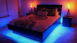 LED Bedroom Lighting Idea