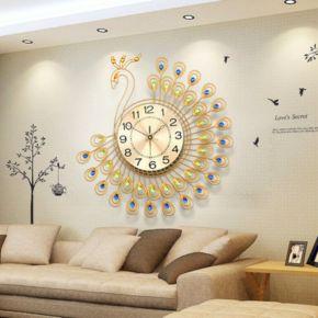 wall clock living room. Large Wall Clock in Living Room Ideas 35  Beautiful Decor with Clocks DECOREDO