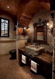Amazing Rock Wall Bathroom You Need to Impersonate 10