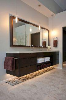 Amazing Rock Wall Bathroom You Need to Impersonate 22
