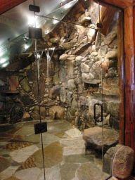 Amazing Rock Wall Bathroom You Need to Impersonate 25