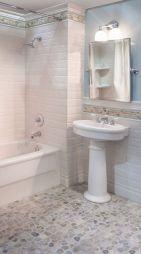 Amazing Rock Wall Bathroom You Need to Impersonate 35
