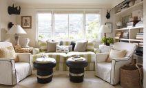 Asymmetrical Balance Interior Design Living Room