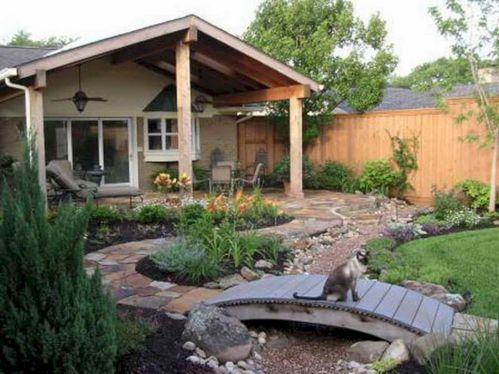 Back Porch Design Idea