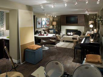 Basement Living Room Ideas