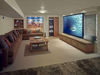 Basement Movie Room Ideas