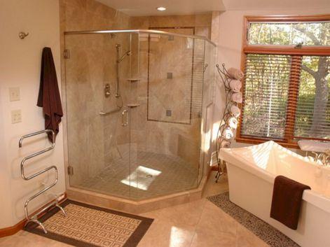 Bathroom Idea Master Bath Shower