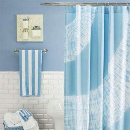 Bathroom Ideas with Shower Curtain