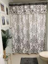 Bathroom Shower Curtains with Valance
