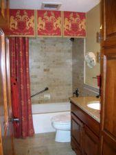 Bathroom Shower Curtains with Valances