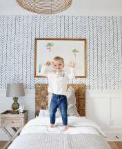 Beautiful Bedroom Wallpaper Decorating Ideas 15