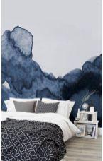 Beautiful Bedroom Wallpaper Decorating Ideas 17