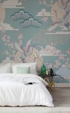 Beautiful Bedroom Wallpaper Decorating Ideas 27