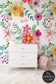 Beautiful Bedroom Wallpaper Decorating Ideas 35