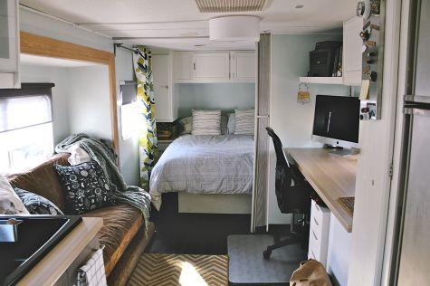 Camper Travel Trailer Remodel