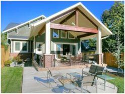 Craftsman Homes Back Porches
