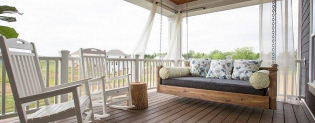 Craftsman Style Porch Swing
