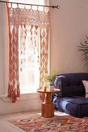 Curtain Macrame Knot Pattern