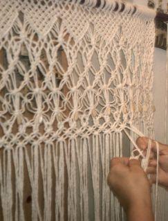 Curtain Macrame Knot Patterns