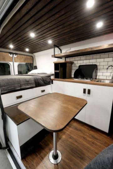 Dodge Camper Van Interior Conversion