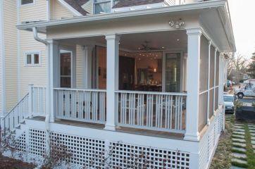 Enclosed Back Porch Designs
