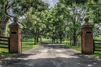 Farm Driveway Entrances Gates