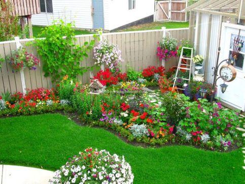 Flower Garden Designs for Small Backyards