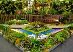 Flower Garden Landscaping Idea