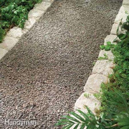 Garden Path Ideas Gravel Walkways
