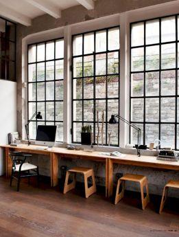 Home Office Desk Window