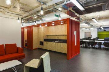 Industrial Design Office Spaces Idea