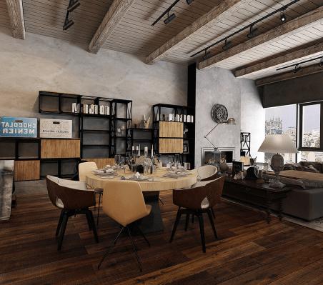 Industrial Office Design Idea Design