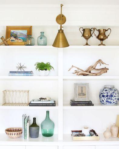 Inspiration Styling Bookshelf Ideas 18