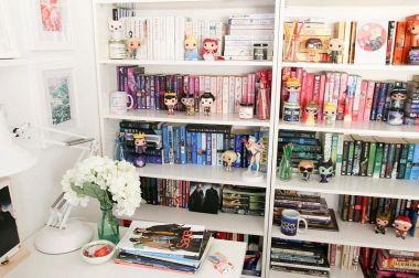 Inspiration Styling Bookshelf Ideas 32