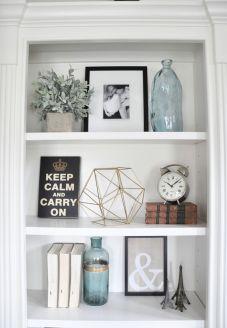 Inspiration Styling Bookshelf Ideas 6
