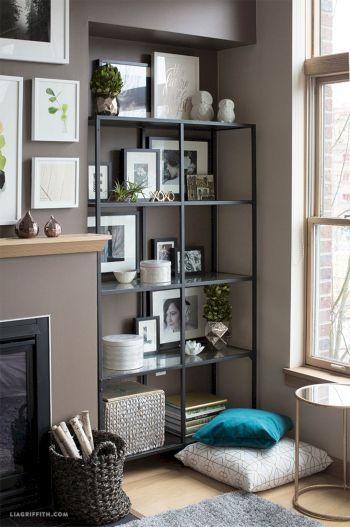 Inspiration Styling Bookshelf Ideas 9
