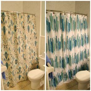 Modern Bathroom Shower Curtains