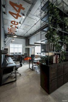 Modern Industrial Office Interior Design