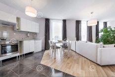 Modern Kitchen Interior Design Living Room