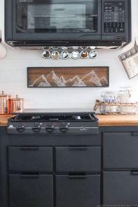 RV Camper Kitchen Cabinets