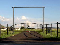 Ranch Style Gate Entrances