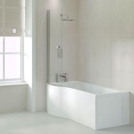 Shaped Baths Shower